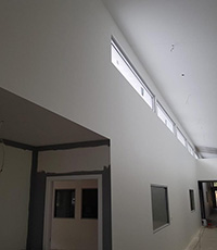 Commercial Roof and Walls Plaster