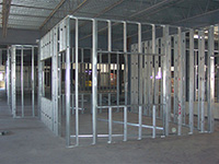 Commercial Stud Metal Wall